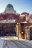 合唱哈尔科夫犹太教堂 库存图片