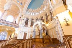 合唱犹太教堂 库存图片