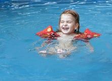合并游泳 图库摄影
