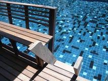 合并游泳 免版税库存照片