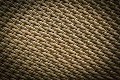 综合性藤条织法纹理  库存图片