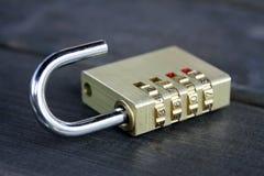 组合挂锁 免版税库存图片