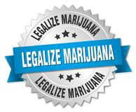合法化大麻 向量例证