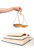 合法的教育 库存照片