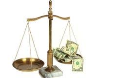 合法的费用 免版税图库摄影