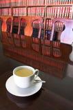 合法3个的咖啡杯 库存照片