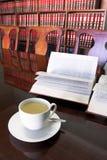 合法4个的咖啡杯 库存图片