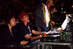 合理的乘员组维克托Drobysh第50个年生日音乐会在巴克来中心 图库摄影