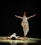 合理的退化差事到迷宫现代舞蹈舞蹈动作设计者玛莎・葛兰姆里 免版税库存照片