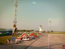 合艾国际机场 免版税库存照片