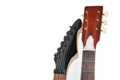 吉他二 库存图片