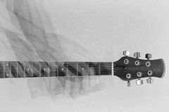 吉他作用 库存图片
