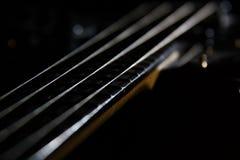 吉他字符串 免版税库存照片
