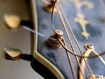 吉他机器头 免版税图库摄影