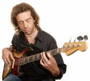 吉他演奏员年轻人 库存图片