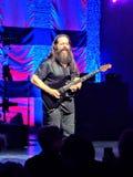 吉他演奏员约翰Petrucci 免版税库存照片