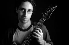吉他演奏员 库存图片