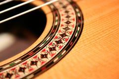 吉他甲板 免版税图库摄影