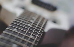 吉他苦恼 免版税库存图片