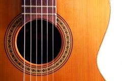 吉他西班牙语 库存照片