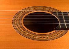 吉他西班牙语 库存图片