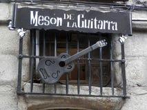 吉他议院  免版税库存图片