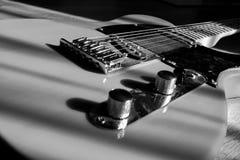 吉他身体 免版税库存照片