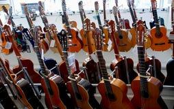 吉他选择  库存图片