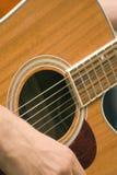 吉他音乐路 库存图片