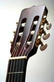 吉他题头 免版税图库摄影