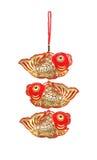 吉利鱼装饰品 库存图片