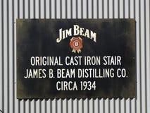 吉姆射线标志 免版税库存图片