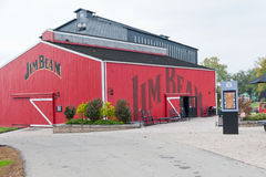 吉姆射线槽坊的测试谷仓 库存图片