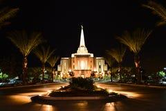 吉尔伯特亚利桑那寺庙 库存图片