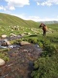 吉尔吉斯斯坦的本质 库存照片