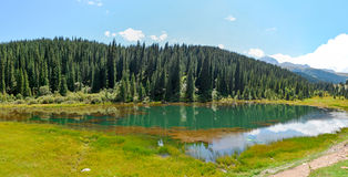 吉尔吉斯斯坦自然,格里峡谷 库存图片