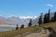 吉尔吉斯斯坦-中央天山地区 库存照片