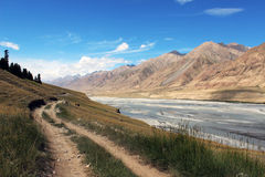 吉尔吉斯斯坦-中央天山地区 免版税图库摄影