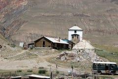 吉尔吉斯斯坦-中央天山地区 库存图片