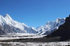 吉尔吉斯斯坦-汗腾格里峰(7, 010 m) 库存照片