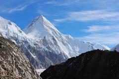 吉尔吉斯斯坦-汗腾格里峰(7, 010 m) 免版税库存照片