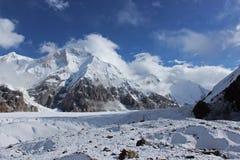 吉尔吉斯斯坦-汗腾格里峰(7, 010 m) 免版税库存图片
