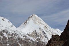 吉尔吉斯斯坦-汗腾格里峰(7,010 m) 库存图片