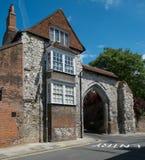 吉尔福德城堡曲拱 免版税图库摄影