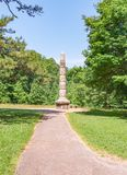 吉尔福德法院大楼全国军事公园 库存图片
