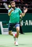 吉尔・西蒙ATP世界游览室内网球 库存图片
