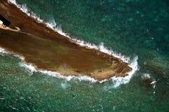 吉布提海岛 免版税库存照片