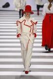 吉恩查尔斯de Castelbajac巴黎时尚星期 库存照片