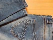 吉恩长裤 免版税库存图片