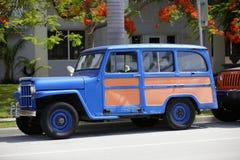 1963年吉普小型客车 免版税库存照片